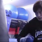 【動画】山上幹臣がROAD FCデビュー。「チョ・ナムジンはタックルから寝技に引き込むタイプ」