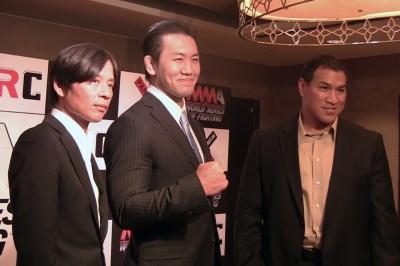 【動画】「パンクラスとWSOF提携及び、WSOF JAPAN開催」記者会見。岡見勇信も出席