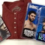 【クリスマス プレゼント】UFC長袖Tシャツ、DVD、フィギュアを各1名さまに
