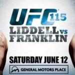UFC115 LIDDELL vs FRANKLIN 全試合結果