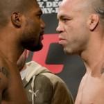 【UFC92公開計量】シウバ×ランペイジ、臨戦状態