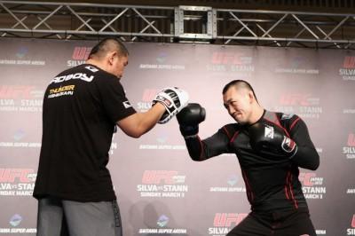 【UFC JAPAN】岡見勇信(01)「ロンバードのフックは要注意です」
