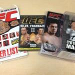 【プレゼント】UFC マガジン、DVD、フィギュアを各1名さまに