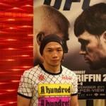 【UFC106】宇野薫――、「自分らしさを出したい」