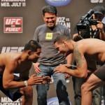 【UFC FUEL04】ウェイドマン&ムニョス、レスラー対決をアピール