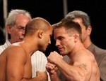 【UFC84公開計量】 ティト・オーティズ、ダナを挑発!