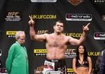 【UFC80公開計量】ラピッドファイアーまったなし