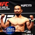 【UFC173】菊野克紀 「戦いは勇気と覚悟と自信に集約される」