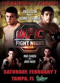 【UFC】2009年上半期のスケジュール続々発表