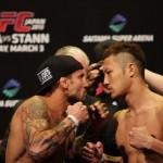【UFC JAPAN】公開計量終了、五味の相手ディエゴが体重超過