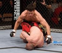 【UFC79】ガンバーリャン、アキレス腱固めで一本