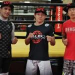 【UFC】真騎士、堀口恭司&水垣偉弥がUFC出場に向けて集合