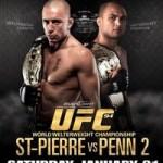 【UFC94】GSP×BJ以外も好カード目白押し