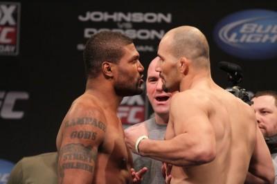 【UFC FOX06】公開計量終了、見納め?ランペイジに大きな歓声