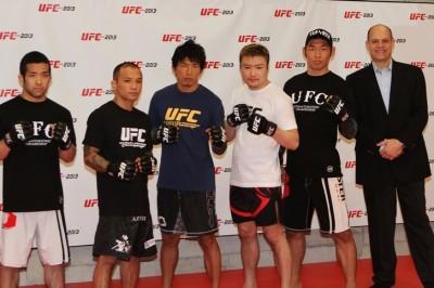 【UFC JAPAN2013】ヴァンダレイ出場、五味隆典はナイトメアーと!!