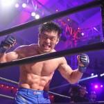 【LFC11】タイトル奪取、安藤晃司第一声。「格闘技に嘘をつけない」