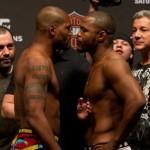 【UFC114】公開計量終了、冷静ラシャド×興奮ランペイジ