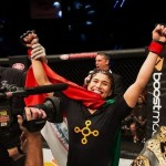 【WSOF08】WSOF初の女子チャンピオンはジェシカ・アギラに