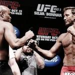 【UFC153】計量終了、若干ふっくらアンデウソンは3ポンドアンダー