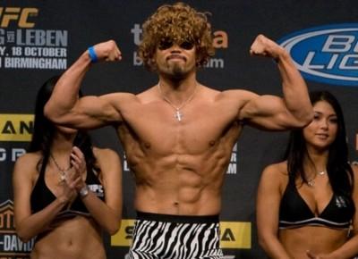 【UFC89】公開計量、郷野×ハーディが挑発合戦