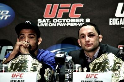【UFC156】最高峰は距離&角度=エドガー、高低差=アルドで決まる