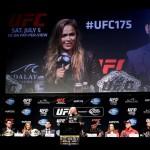 【UFC175 & TUF19 Finale】公開会見は笑い有り、殺気有り
