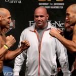 【UFC105】ライトヘビー級の鉄人は? 公開計量終了