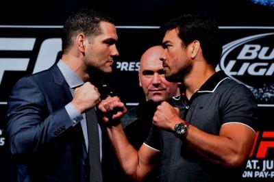 【UFC175】最新装備満載ワイドマン×古の武道で勝負のリョート
