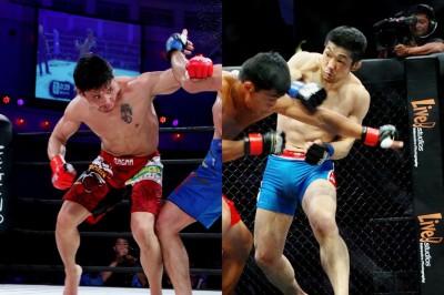【OFC19】大石幸史×ナラントンガラグ、拳を当てるのはどっち!?