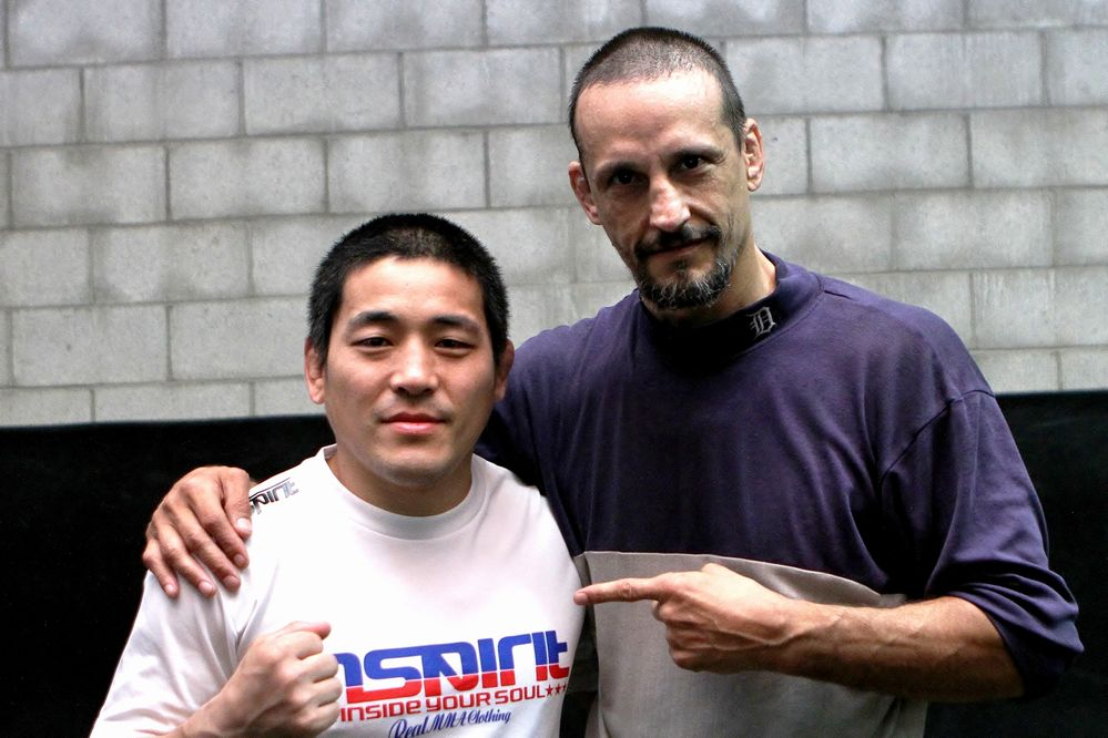 Rico Chiapparelli  and Naoya Uematsu