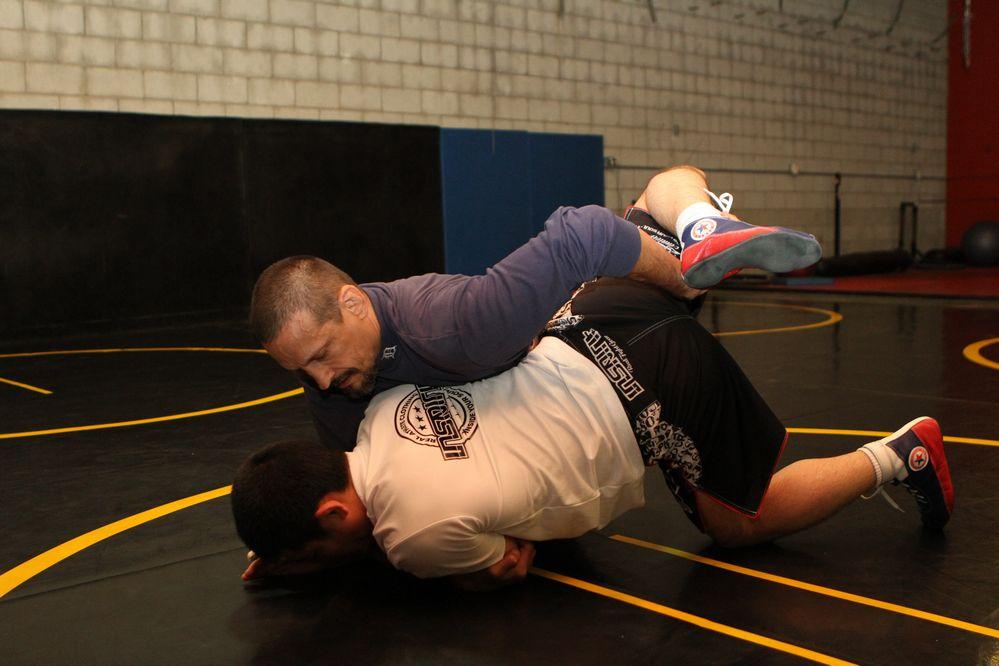 Rico Chiapparelli  in R-1 gym