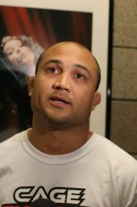 """【UFC94】""""戦闘モード""""BJ・ペンに、落ち着きみせるGSP"""