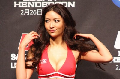 【MONDAY RING GIRL】UFC144