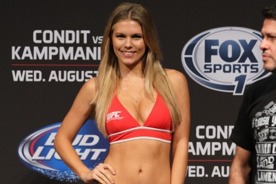 【MONDAY RING GIRL】UFC Fight Night27