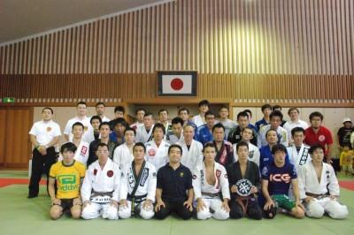 【写真】BJJ JAM参加選手たちが一同に(C)HIROYUKI KATO