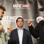 【動画】五味隆典と対戦マイルズ・ジュリー、UFC JAPAN 2014 Media Day 囲み取材
