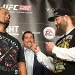【動画】マーク・ハント×ロイ・ネルソン、UFC JAPAN 2014 Media Day 囲み取材