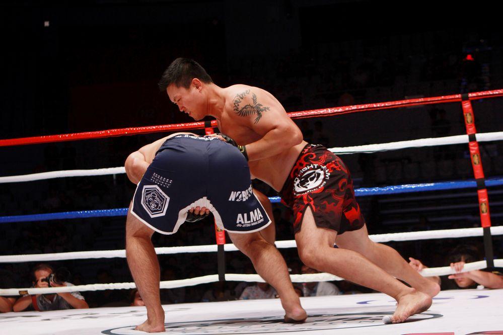 Myung Hyun-Man vs Yuta Nakamura