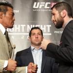 【動画】秋山成勲×アミール・サダロー、UFC JAPAN 2014 Media Day 囲み取材