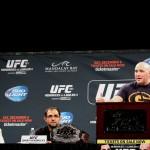 【UFC181】世界戦出場の4選手が会見に出席。メレンデス が語るアドバンテージとは??
