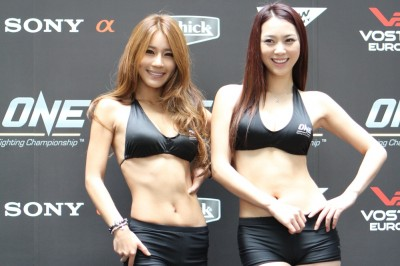 【MONDAY RING GIRL】ONE FC 06