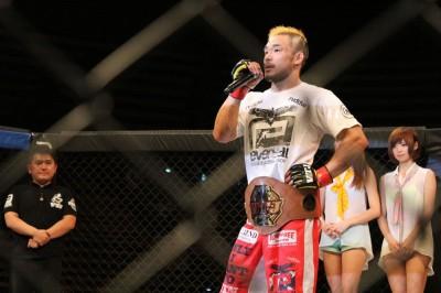 【VTJ 6th】フライ級T優勝、扇久保博正 「UFCで戦いたい。日本で戦いたい相手は元谷選手しかいません」