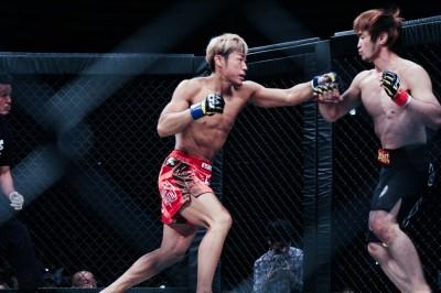 【VTJ6th】リオンに快勝ISAO 「ヒジと金網際の攻防をやりたかったので、試合で出せてよかったです」