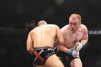 【写真】昨年の6月22日にド派手な殴り合いを制し、川村亮から判定勝ちを収めているイ・ドルヒ(C)MMAPLANET