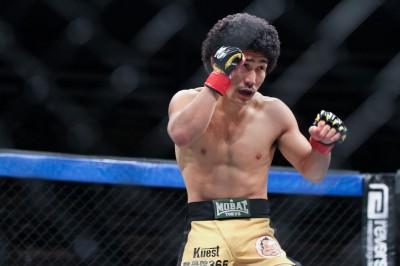 【写真】自分が信じ、磨き続けてきたムエタイがマモルに勝利をもたらした(C)MMAPLANET