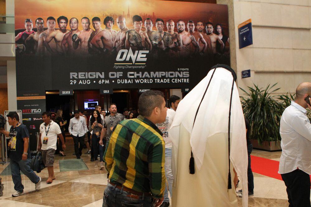 ONE FC in Dubai