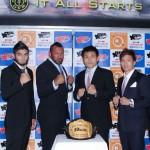 【REAL01】クロン・グレイシー出場、REALは12月23日に有明コロシアムで旗揚げ戦。菊田&宮田ら出場