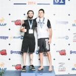 【No-Gi Worlds 2014】世界ノーギ柔術選手権アダルト黒帯の部、入賞者一覧