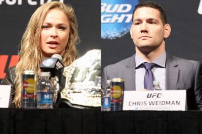 【UFC184】来年2/28にLAでワイドマン×ヴィトー、ロンダ×ジンガーノのダブル世界戦