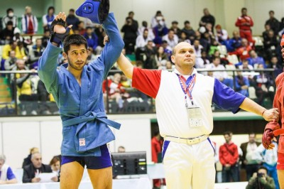 【Sambo】MMA経験のある2014年コンバットサンボ世界王者<01>アルマン・オスパノフ